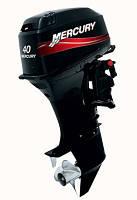 Двухтактный лодочный мотор Mercury 40 EO