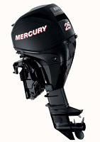 Четырехтактный лодочный мотор Mercury F 25 E EFI