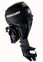 Четырехтактный лодочный мотор Mercury F 25 M EFI