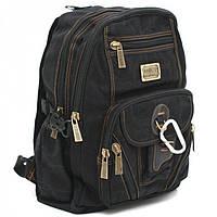 Небольшой рюкзак с карабином Goldbe арт. B259Black