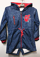 Детская спортивная кофточка-батник для девочек от 116см до 146см