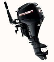 Четырехтактный лодочный мотор Mercury F 9 9 MLH CT