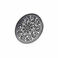Кольцо Пейстра, большое / Размер регулируется: 16-19 мм. Диаметр декоративного элемента 4,5 см