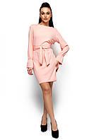 Платье женское, цвет: персик, размер: S, M, L