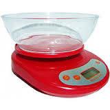 Кухонные весы с чашей до 5кг