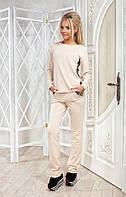 Славный костюм Gabriella с славной отделкой пайеткой и резинкой на поясе брюк (длина брюк 107 см, длина свитера по спинке - 62 см, рукав - 63 см)