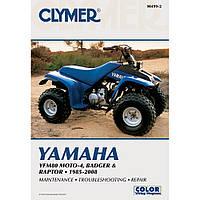 Clymer Yamaha Yfm80 Moto-4, Badger & Raptor 85-08 M499-2