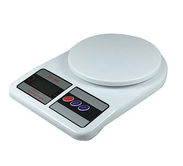 Электронные кухонные весы до 10 кг. с батарейками