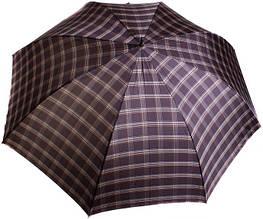 Мужской зонт-трость полуавтомат ТРИ СЛОНА MR1800-4, большой купол