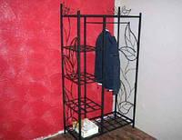 Кованая гардеробная 7