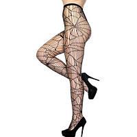 Простота Сексуальний Абстрактний Павук Чистий Мода Ажурні Колготки