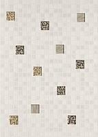 Декор КВАДРО Мозаика 25x35 белый