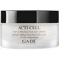 Дневной крем с тройной защитой для сухой кожи Acti-Cell Triple Protection Day Cream Dry Skin Ga-De