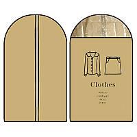Чехол ПВХ для одежды 60*100см R82177 (200шт) (Китай)