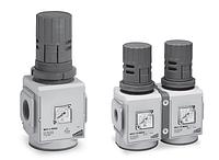 """Регулятор давления 3/4"""" со встроенным манометром  MX3-3/4-R004, фото 1"""