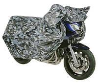 Термостойкий комуфляжный моточехол Oxford Aquatex Camo размер L
