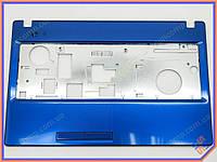 Корпус для ноутбука Lenovo G580 G585 (Версия 2) Blue Metalic. (Крышка клавиатуры - верхняя часть базы). Оригинальная новая!
