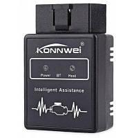 Konnwei KW912 Bluetooth сканер для диагностики автомобиля Чёрный