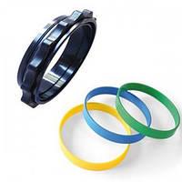 Кольца круглые Si Tech для сухих перчаток. Устанавливаются на перчатки