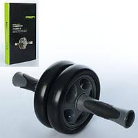 Тренажер, колесо для мышц пресса, диам.14см, ручки пластик/резина, в кор. 19*34*4,5с (36шт)