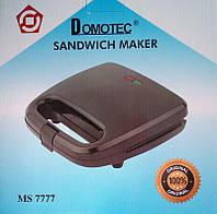 Бутербродница сендвичница Domotec Ms 7777, фото 1