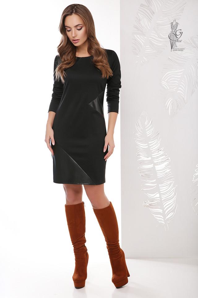 Подобные платья Женского платья из эко-кожи Арлет