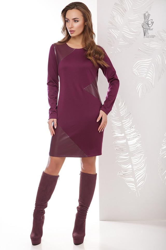 Подобные платья-2 Женского платья из эко-кожи Арлет