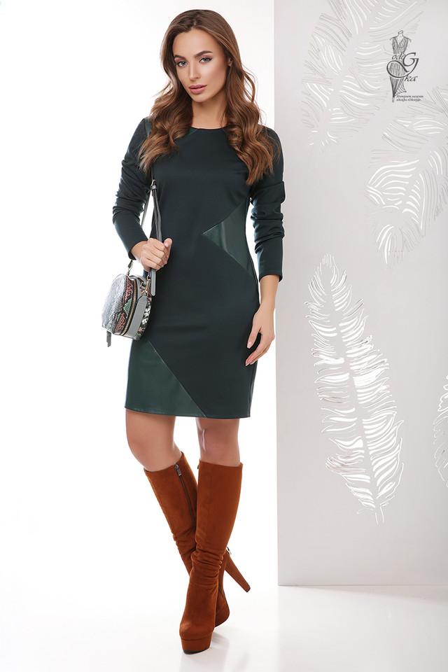 Фото Женского платья из эко-кожи Арлет