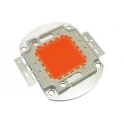 Светодиодная ЛЕД LED матрица уличных бытовых прожекторов 50 Вт может иметь светоотдачу от 60 до 100 Лм/Вт