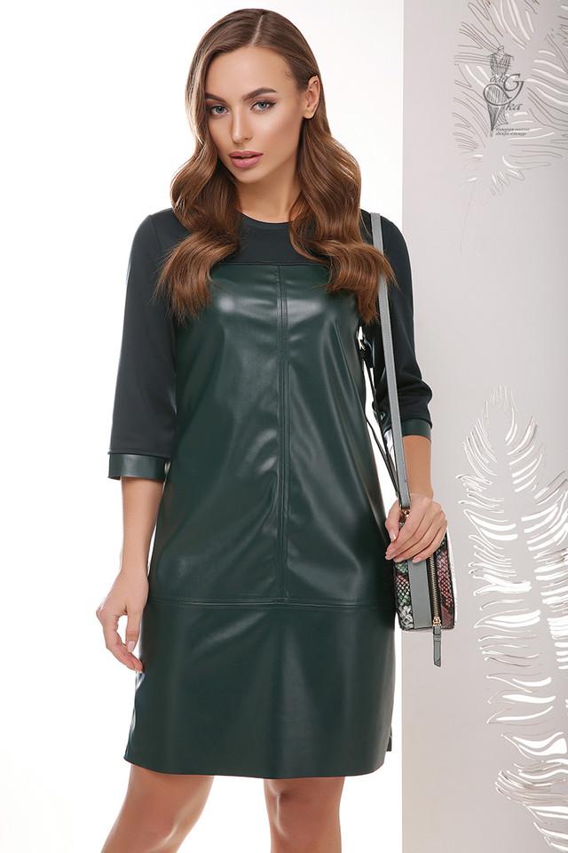 Подобные платья-5 Женского платья из эко-кожи Эдита