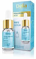 Delia Hyaluronic Acid 100% Сыворотка для лица, шеи и декольте с Гиалуроновой кислотой