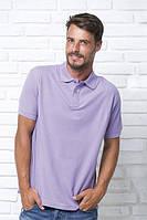 Футболка - поло мужская, JHK T-shir Pora 210 , Испания, однотонная, разные цвета, промо одежда, от XS до 5XL