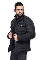 Мужская классическая стеганая куртка весна - осень