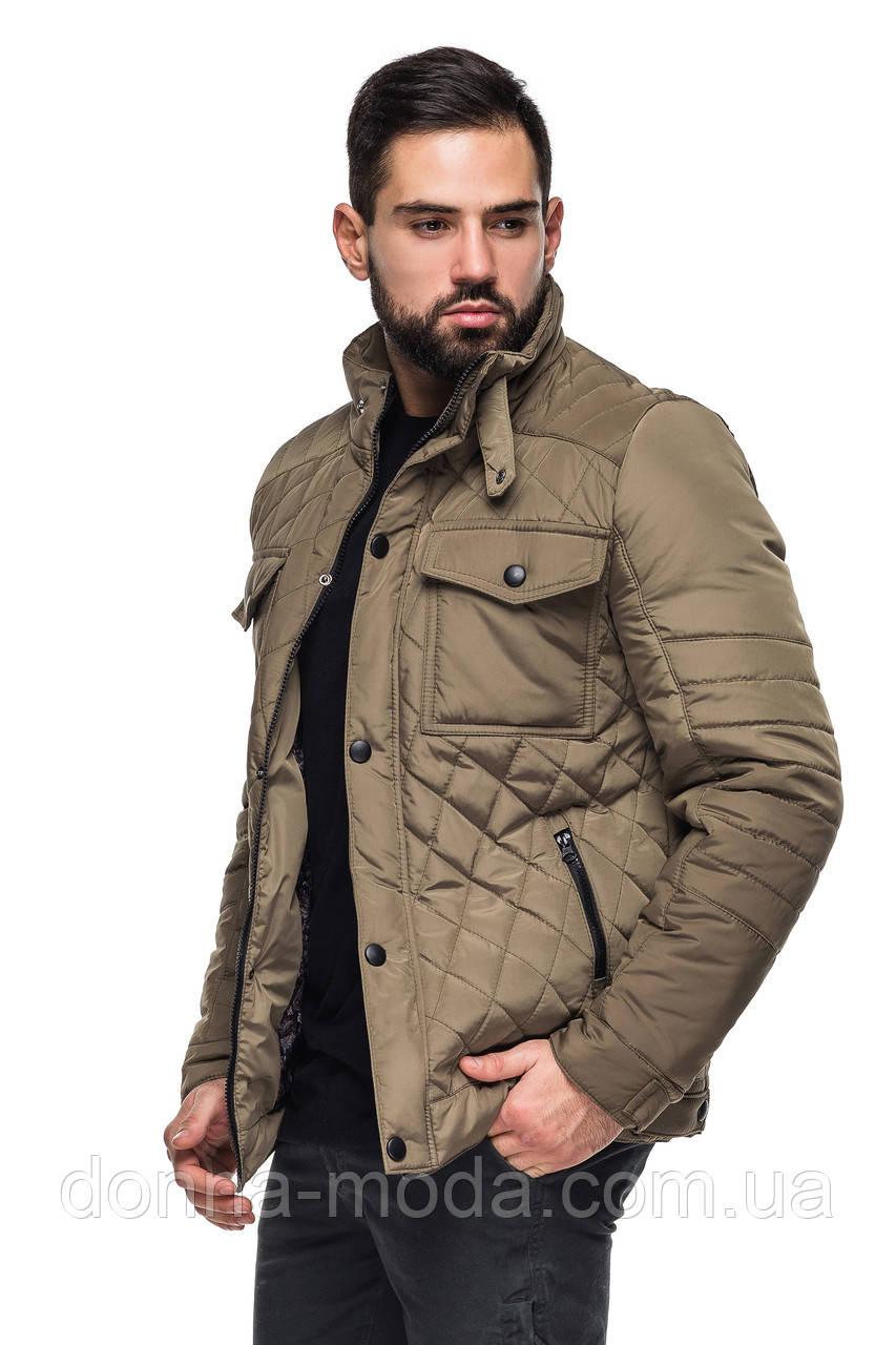 058ac550ba89 Мужская классическая стеганая куртка демисезонная - интернет-магазин