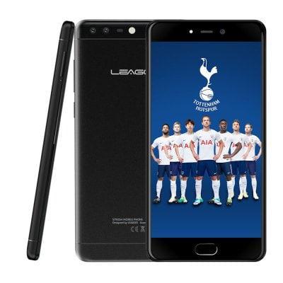 "Смартфон Leagoo T5C 3/32Gb Black, 8 ядер, 13+2/5Мп, 5.5"" IPS, 2 SIM, 4G, 3000 мАч"