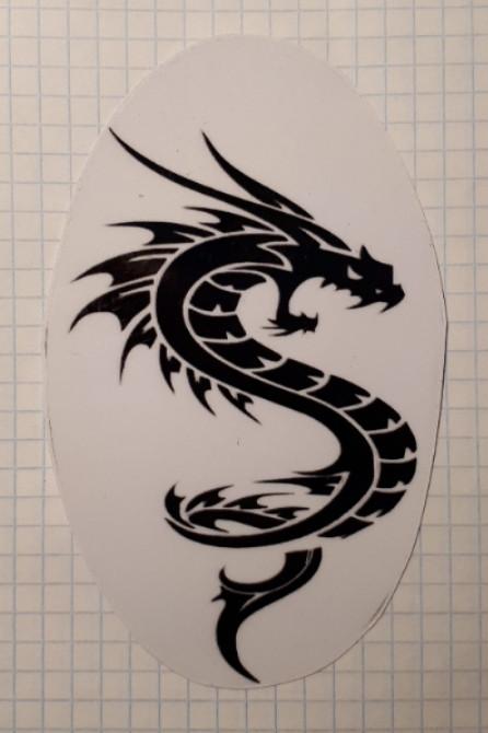 Наклейка Дракон