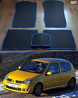 Коврики на Renault Clio II '01-05. Автоковрики EVA, фото 1