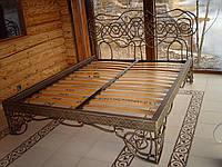 Кованая кровать К003