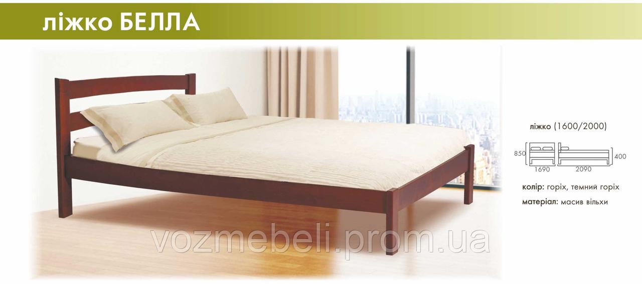 Ліжко Белла 140*200 RoomerIn