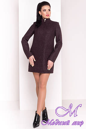 "Весеннее короткое кашемировое пальто (р. S, M, L) арт. ""Мелини 4378"" - 21032, фото 2"