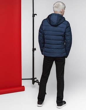 Куртка мужская весенняя 4726 синяя, фото 2