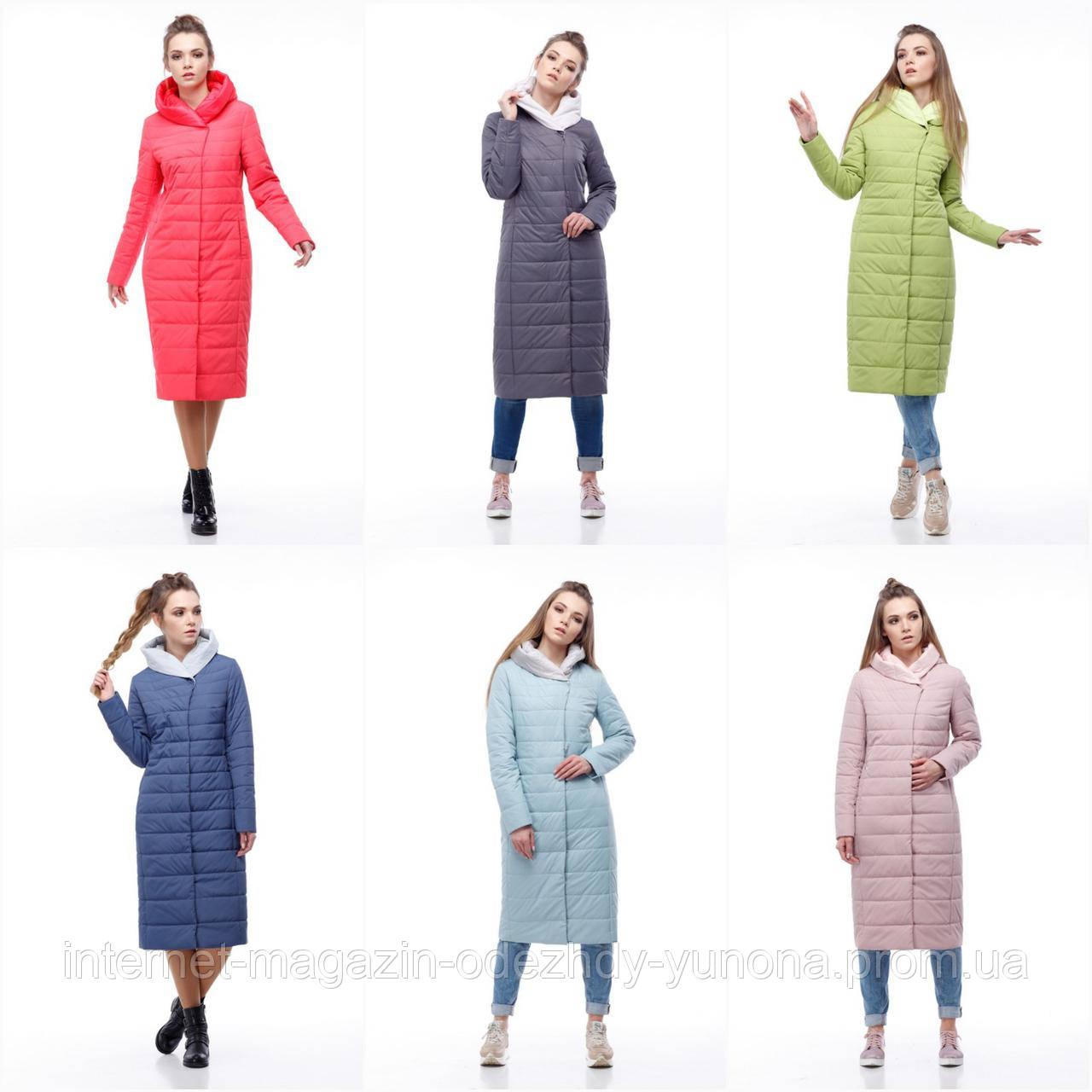 f0e05e49 Пальто женское демисезонное из плащевки - Интернет-магазин