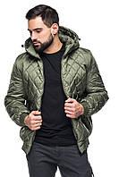Мужская стеганая короткая куртка весна - осень, фото 1
