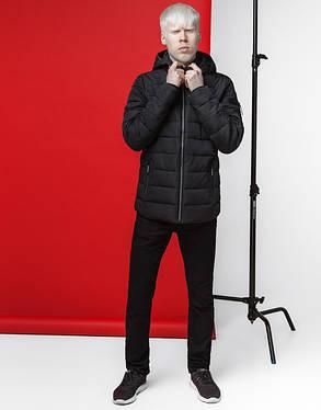 Японская куртка весна-осень 4541 черная, фото 2