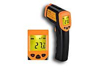 Лазерный цифровой термометр пирометр AR320, Инфракрасный бесконтактный термометр градусник, пирометр