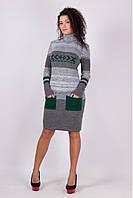 Вязаное платье Ириша   р. 42-50, фото 1