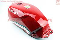 Бак топливный красного цвета на мотоцикл  VIPER -125-J