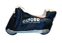 Качественный чехол для  мотоциклов с кофрами Oxford размер М