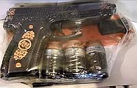 """Штоф """"Пистолет на поставке"""". Славянская керамика. Посуда керамическая.Сувениры, керамика."""