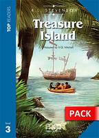 Top Readers Treasure Island Pre-Intermediate Book with CD  \level 3\